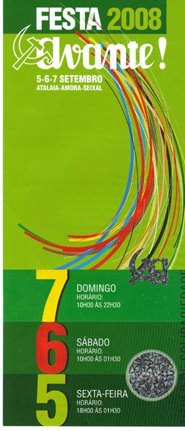 A próxima edição da Festa do Avante terá lugar nos dias 5, 6 e 7 de Setembro na Quinta da Atalaia, no concelho do Seixal. Encontra-se já disponível, nas Organizações […]