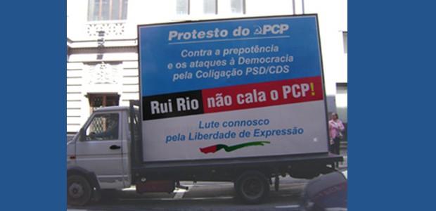 A Direção da Organização da Cidade do Porto do PCP acusou hoje o ainda presidente da câmara, Rui Rio, de ter violado uma decisão do Tribunal Constitucional ao retirar propaganda […]