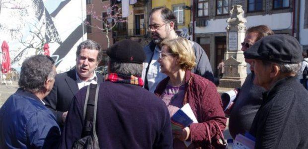 A CDU realizou hoje, dia 2 de abril, uma visita pública ao Centro Histórico do Porto na qual participaram Ilda Figueiredo, candidata à presidência da Câmara, Rui Sá, 1º candidato […]