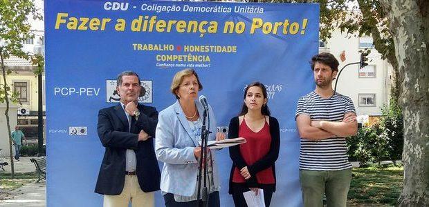 A CDU realizou esta 6ªf, dia 25 Agosto, um acto público de apresentação das suas Linhas Programáticas – Projecto de desenvolvimento para a cidade do Porto. No jardim do Marquês, […]