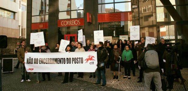 O PCP juntamente com os utentes dos CTT da Galiza realizaram, no dia 8 de Janeiro, um protesto contra o encerramento da estação dos correios. Após a informação pública sobre […]
